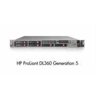 Serveur Hp Proliant DL360 G5 1 x Xeon Quad core E5430 2.66 Ghz